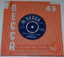 THE MOODY BLUES - FROM THE BOTTOM OF MY HEART b/w AND MY BABY, 1965 DECCA 12166