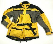 VINTAGE Boulder Gear Ski Jacket Yellow Hardshell Parka WATERPROOF BREATHABLE