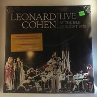 Leonard Cohen - Live at the Isle Of Wight 1970 2LP NEW 180G