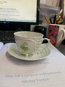 Belfast cup and saucer Victoria Austria