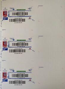 Etiquette EXPORT SUIVI international sticker monde envois lettre suivie Poste