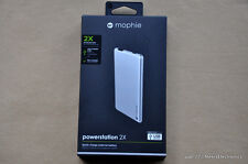 NEW MOPHIE POWERSTATION 2X EXTERNAL BATTERY 2.4 Amp 4000 mAh FAST FREE SHIPPING