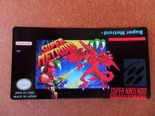Label Super Metroid Cartridge Replacement Game Label for Super Nintendo