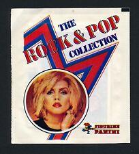 1980 Panini UNOPENED PACK Rock & Pop Music Cards Michael Jackson BLONDIE Bowie
