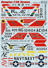 DECAL FOR MC.DONNELL DOUGLAS F3H DEMON 1/72 PRINT SCALE 72-105