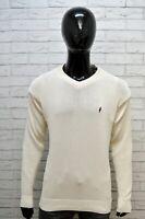 Maglione Pullover Uomo MARLBORO CLASSICS Taglia XL Cardigan Cotone Sweater