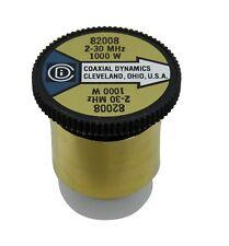 Wattmeter Element Slug 1000 Watt 2-30 MHz Bird 43 Coaxial Dynamics 82008 (1000H)
