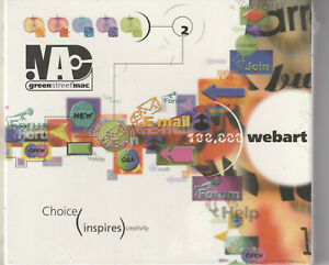 MAC compatible 100,000 Web Art Royalty Free GIF images on CD; NEW
