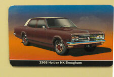 Holden HK Brougham Sedan (Maroon Burgundy)  Fridge Magnet