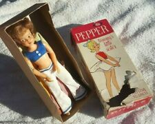 Superb Vintage 1964 Ideal Pepper Doll Tammys Little Sister Original Box Outfits