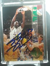 1993 Shaquille O'neal Calssic 4 Sport Auto 410/500 LSU College  Extremely Rare