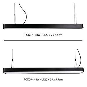 LED SUSPENDED BEAM PANEL LIGHT - 40W LED Rectangular Suspended Ceiling Panel