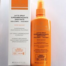 COLLISTAR LATTE SPRAY SUPERABBRONZANTE IDRATANTE SPF 6 200ML VISO CORPO SPRAY