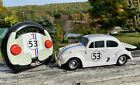 2005 Planet Toys DISNEY Herbie Fully Loaded R/C Car w/ Controller 1:18 Scale