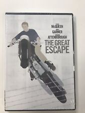 The Great Escape ( Dvd ) Steve McQueen, New Factory Sealed
