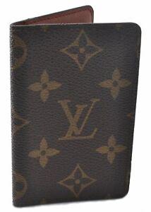 Authentic Louis Vuitton Monogram Organizer De Posh Card Case M61732 LV D6310