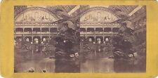 Palais de l'Industrie Paris Exposition Universelle Photo Stereo Vintage albumine
