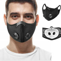 Outdoor Sport Mouth Half with Activated Carbon Filter Dustproof