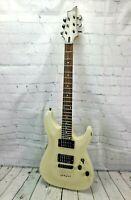 Schecter Diamond Series Omen 6 Electric Guitar White 2008