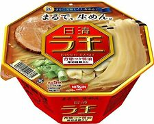Nissin Raoh / Rich soy sauce 113g×6pcs Japanese Instant-Noodle(Ramen-Noodles)