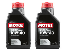 2 LITRI OLIO MOTUL 2100 POWER + 10W40 TECHNOSYNTHESE A3 B4 VW 501.01 505.00