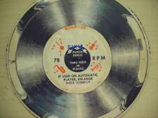 Wheaties Cardboard Record DIXIE 78rpm NEW