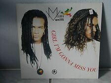 "*****MILLI VANILLI""GIRL I'M GONNA MISS YOU""-12""Inch Hansa Records*****"