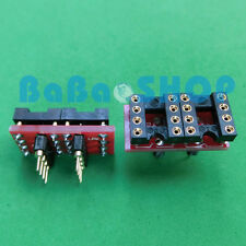 DIP to DIP Dual to Mono Opamp PCB Adapter for OPA627BP AD797AN OPA604AP AD847AQ