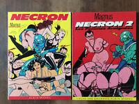 Magnus * Nécron * Tome 1 (1988) + Tome 2 (E.O. 1985) * Albin Michel * TBE