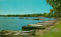 Postcard Bathing Beach And Shoreline Epworth Forest, Lake Webster, IN