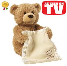 Peek a Boo Teddy Bear Play Hide And Seek Lovely Cartoon Stuffed Teddy Bear Kids