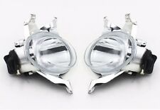 2x Driver Passenger Side Front Fog light lamp For Peugeot 206 1998-