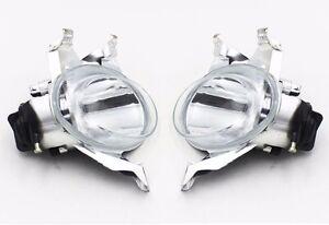 2x Driver Passenger Side Front Fog light lamp For Peugeot 206 1998-