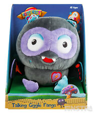Giggle Fangs Talking Plush Toy Large 18cm Giggle and Hoot Interactive Owl Hoot H