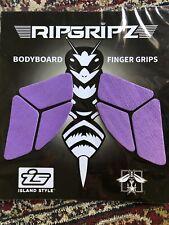 Body Board Traction Grips Purple