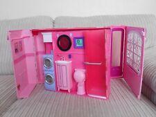 Barbie LA MIA CASA ROSA ripiegare viaggio Playset Casa delle bambole con bagno cucina 2007