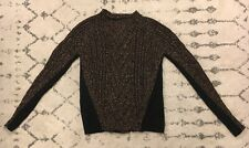 Woolrich Knit Sweater Womens Size XS Black Brown EUC! F1