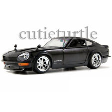 Jada 1972 Nissan Datsun 240 Z 1:24 Diecast Model Car 92090 Black