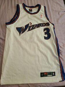 Nike Washington Wizards Juan Dixon Authentic Jersey vintage size 48 XL DriFit