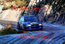 Colin McRae Subaru Impreza WRC 98 Monte Carlo Rally 1998 Photograph