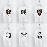 Japanese Horror Comics Printed T shirt Women Summer Casual Tops Tee for Child