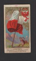 1890 Allen & Ginter N10 Flags of All Nations Tyrol
