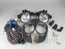 Clear Fog Lights Kit for 2013-2015 Nissan Altima Sedans w/ Electronics & Switch