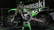 Kawasaki Factory 09-2019 Monster Energy Team Graphics Kit KX KXF 65 85 250 450
