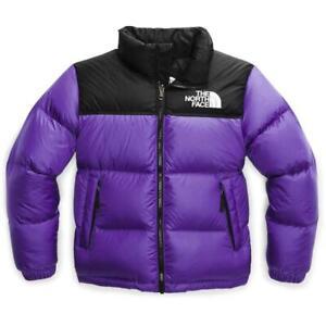 The North Face Younth Kids 1996 Retro Nuptse Vest Purple 700-fill Size M 10/12
