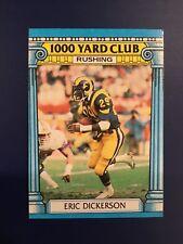 1987 Topps #1 ERIC DICKERSON 1000 Yard Club Los Angeles RAMS 1,821 Yards 1986