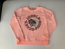 Kenzo Kids Tiger Orange Jumper Sweater Age 14 Years Vgc Girls