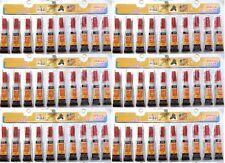 60 Tubes of  Super Glue - 'Cyanoacrylate Adhesive'  FREE SHIPPING USA SELLER