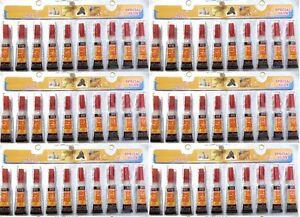 60 Tubes of  Super Glue - 'Cyanoacrylate Adhesive'  USA SELLER