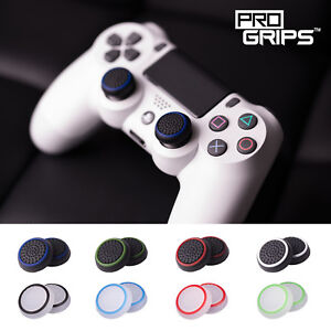 2 x Pro Grips™ Thumb Stick Cover Grip Caps For Sony PS5 PS4 Controller Joystick
